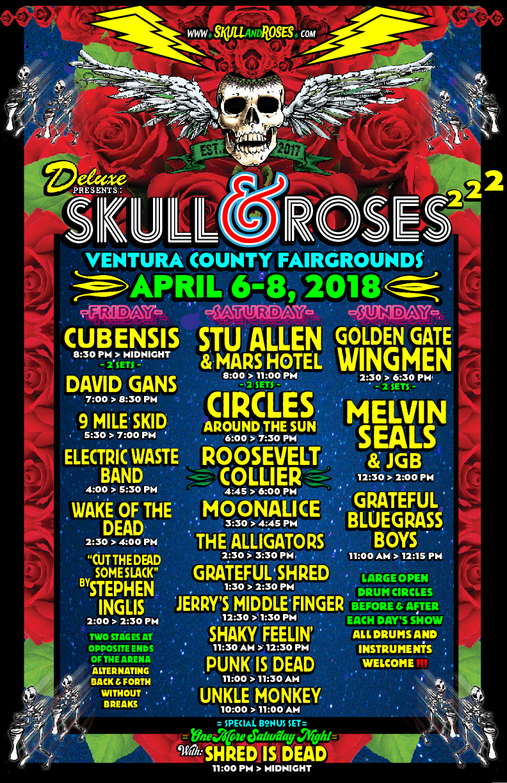 Skull and Roses Music Festival Ventura