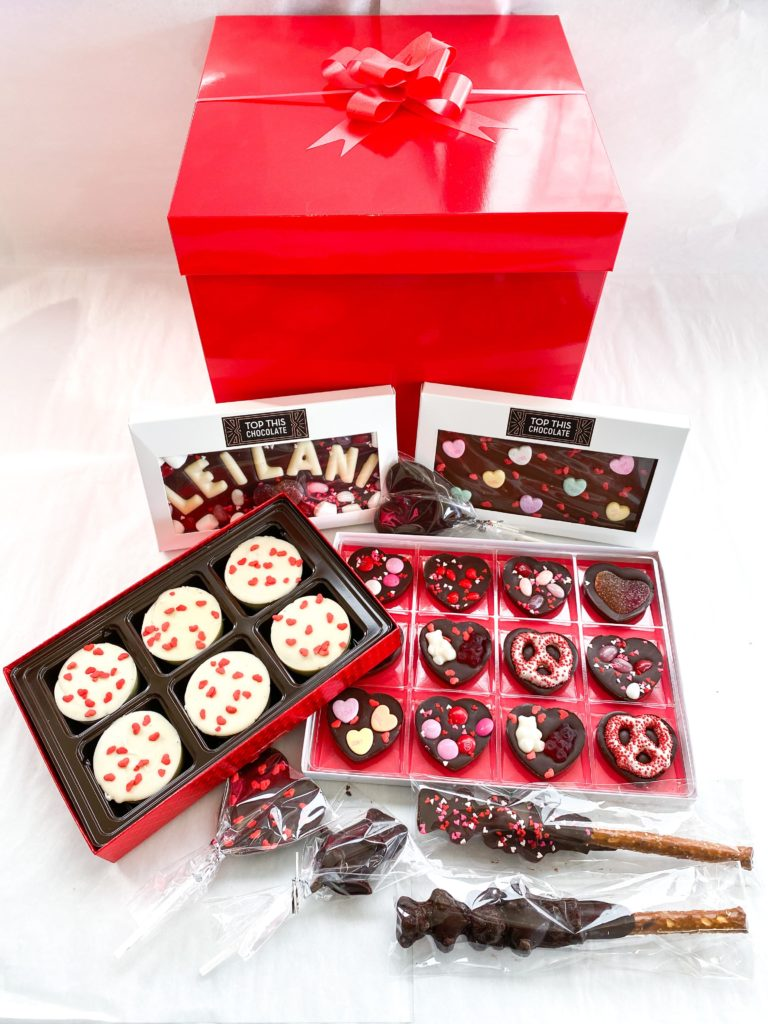 Valentine's Box top this chocolate ventura