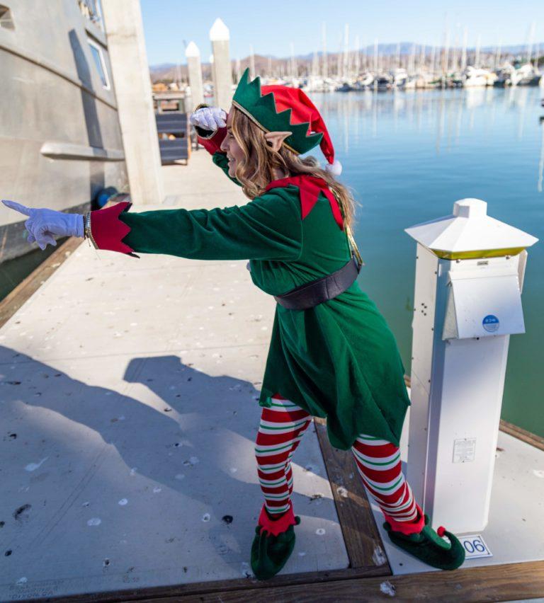 Visit Ventura Elf in the Ventura Harbor