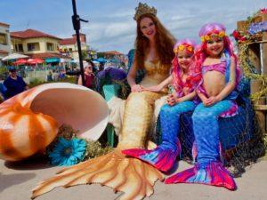 March Mermaid Month in Ventura's Harbor Village