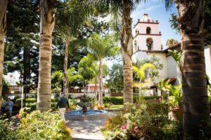 san buenaventura mission ventura garden