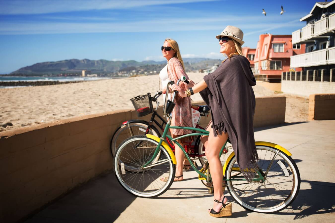 Biking on south seaward ave Ventura