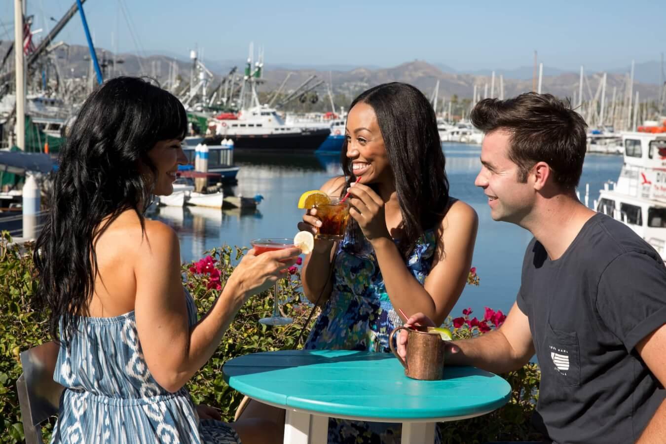 Drinks in the Ventura Harbor