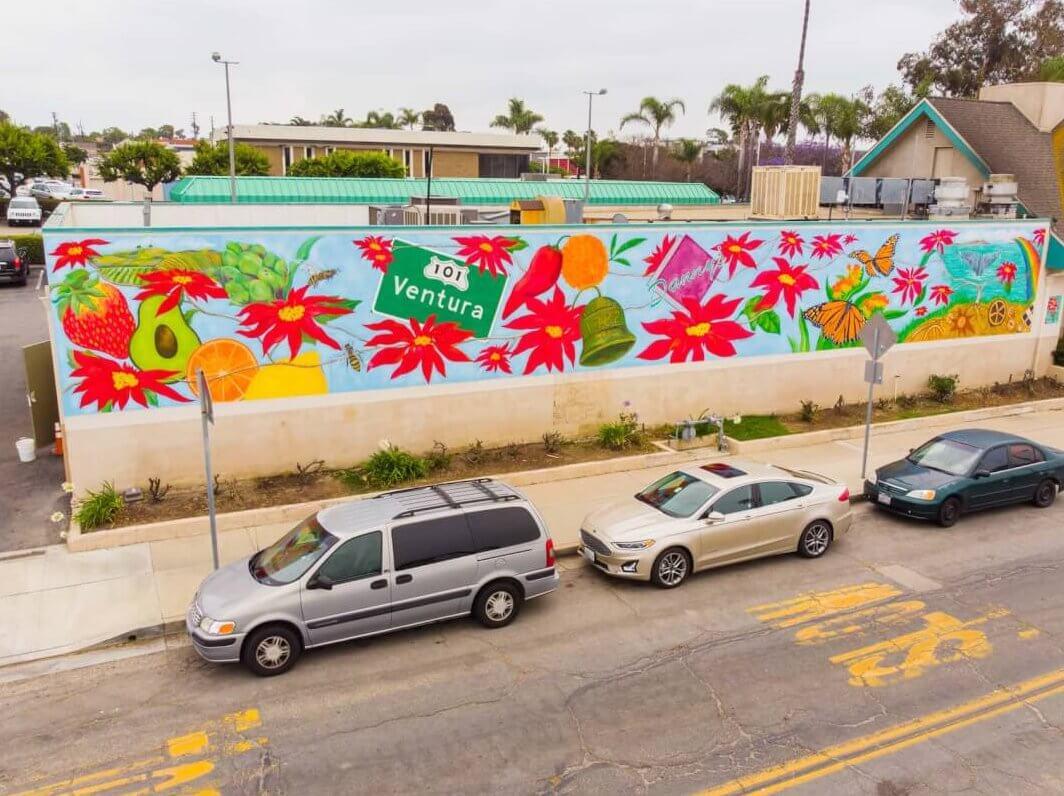 Dannys deli mural