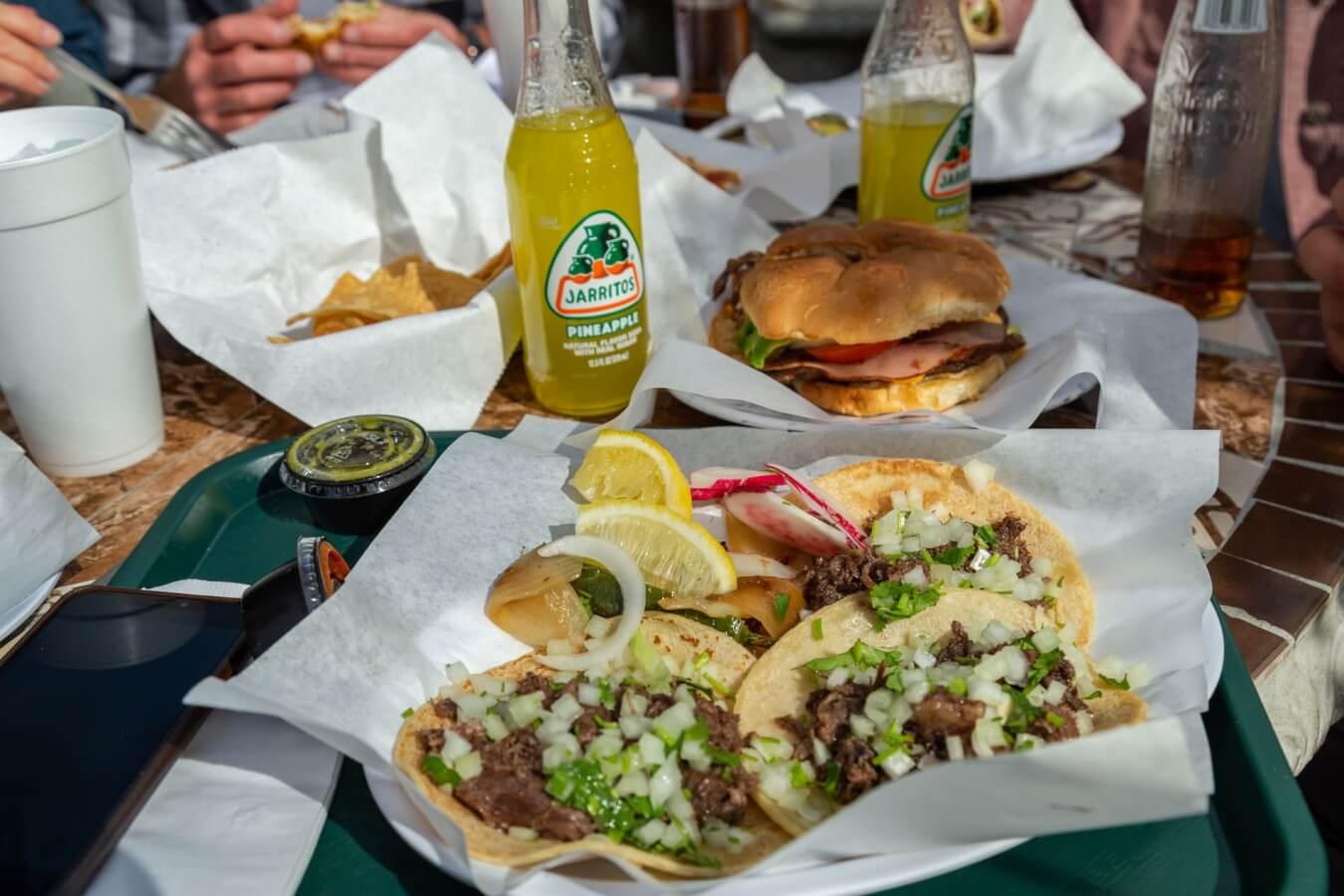 Taqueria Dona Raquel tacos Ventura