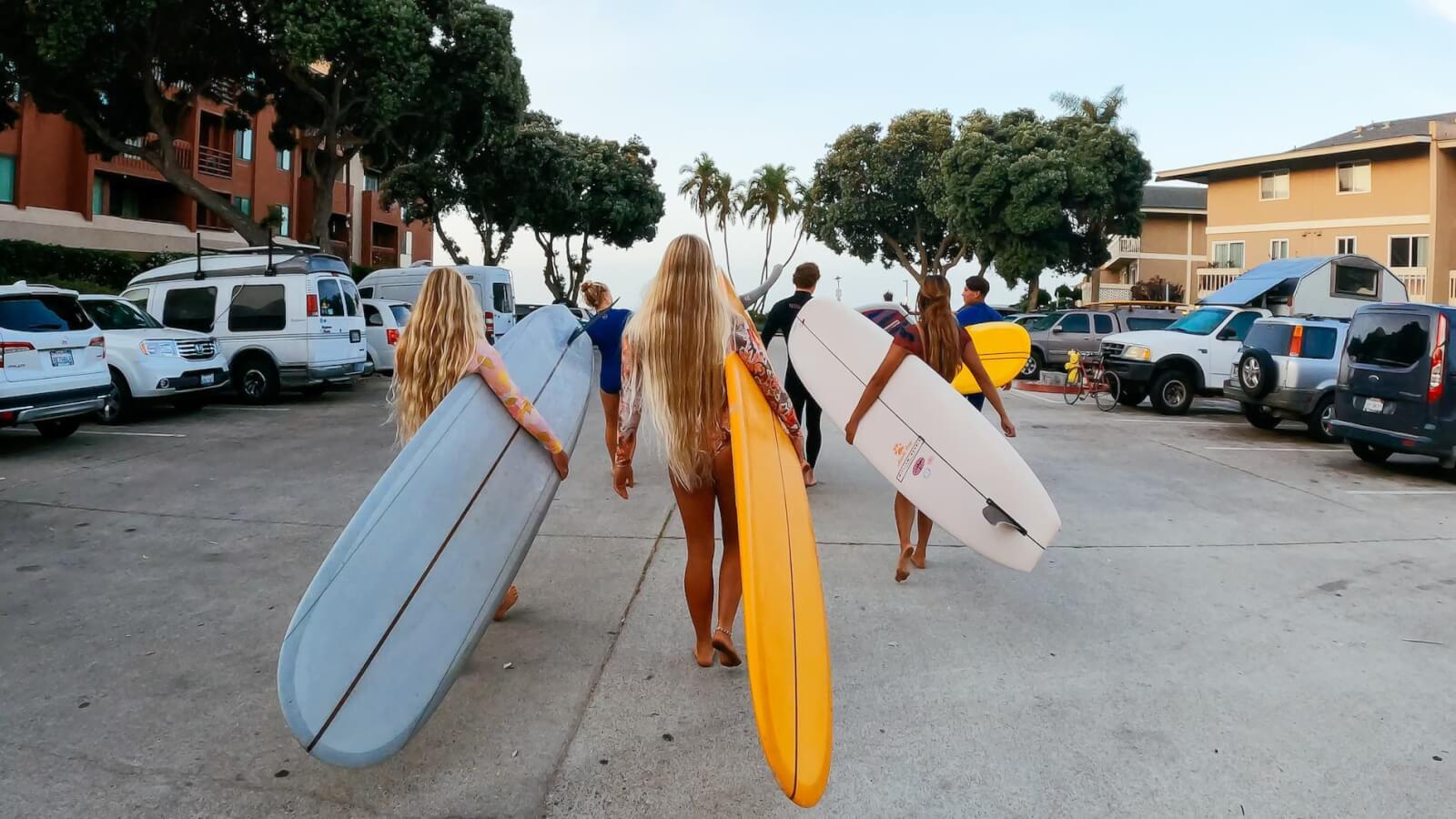 Going surfing Ventura